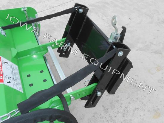 Peruzzo 'Scorpion' Mini Skid Steer Flail Mower -- Iowa Farm Equipment